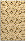 rug #752625 |  brown geometry rug