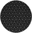 rug #752685 | round contemporary rug