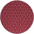 rug #752893   round pink rug