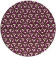 rug #752909 | round green geometry rug