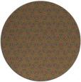 rug #753009 | round pink rug