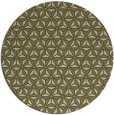 rug #753013 | round light-green rug