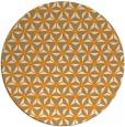 rug #753025 | round light-orange geometry rug