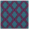 rug #755209 | square blue-green popular rug