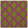 rug #755473 | square light-green traditional rug