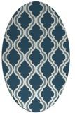 rug #755523 | oval traditional rug