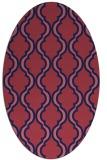 rug #755591 | oval traditional rug