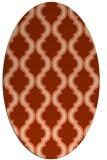 rug #755695   oval traditional rug