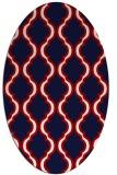 rug #755739 | oval traditional rug
