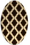 rug #755794 | oval traditional rug
