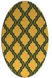 rug #755801 | oval light-orange traditional rug