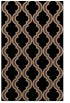 rug #755865 |  brown traditional rug