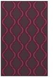rug #756073 |  purple traditional rug