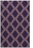rug #756081 |  purple traditional rug