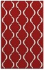 rug #756097 |  red traditional rug