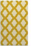 rug #756137 |  yellow traditional rug