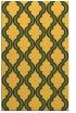 rug #756153 |  yellow traditional rug