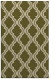 rug #756181 |  light-green traditional rug