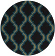 rug #756221   round mid-brown traditional rug