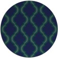 rug #756233 | round blue rug