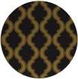 rug #756317   round mid-brown traditional rug