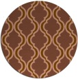 rug #756345 | round traditional rug