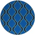 rug #756369 | round blue traditional rug