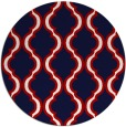 rug #756443 | round traditional rug