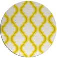 rug #756477 | round white traditional rug