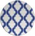 rug #756481 | round blue traditional rug