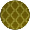 rug #756521 | round light-green rug