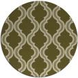 rug #756533 | round light-green rug