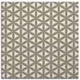 rug #756905 | square beige circles rug