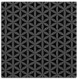 rug #756913 | square black circles rug