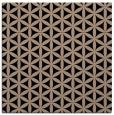 rug #756917 | square beige circles rug