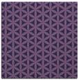 rug #757001 | square purple circles rug