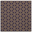 rug #757013 | square beige circles rug