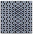 rug #757019 | square circles rug
