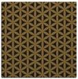 rug #757021 | square mid-brown rug
