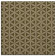 rug #757025   square brown rug