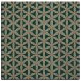 rug #757027 | square circles rug