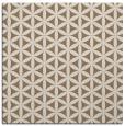 rug #757057 | square beige circles rug
