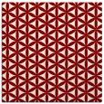 rug #757100 | square circles rug