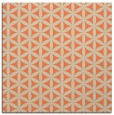rug #757101 | square orange circles rug