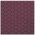 rug #757129 | square purple circles rug