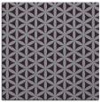 rug #757141 | square purple circles rug