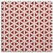 rug #757153   square red circles rug