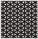 rug #757177 | square white circles rug