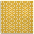 rug #757193 | square yellow popular rug