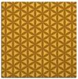 rug #757209 | square yellow circles rug